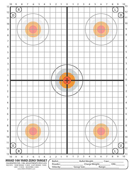 Arma Dynamics Printable Targets